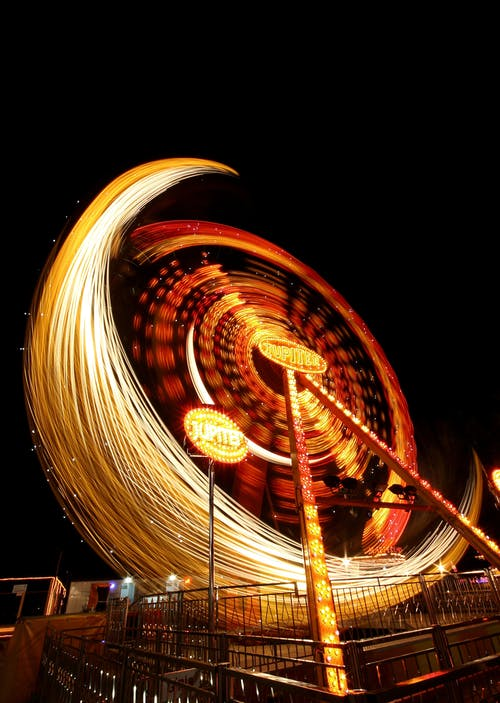 Steel Wool Amusement Park Ride