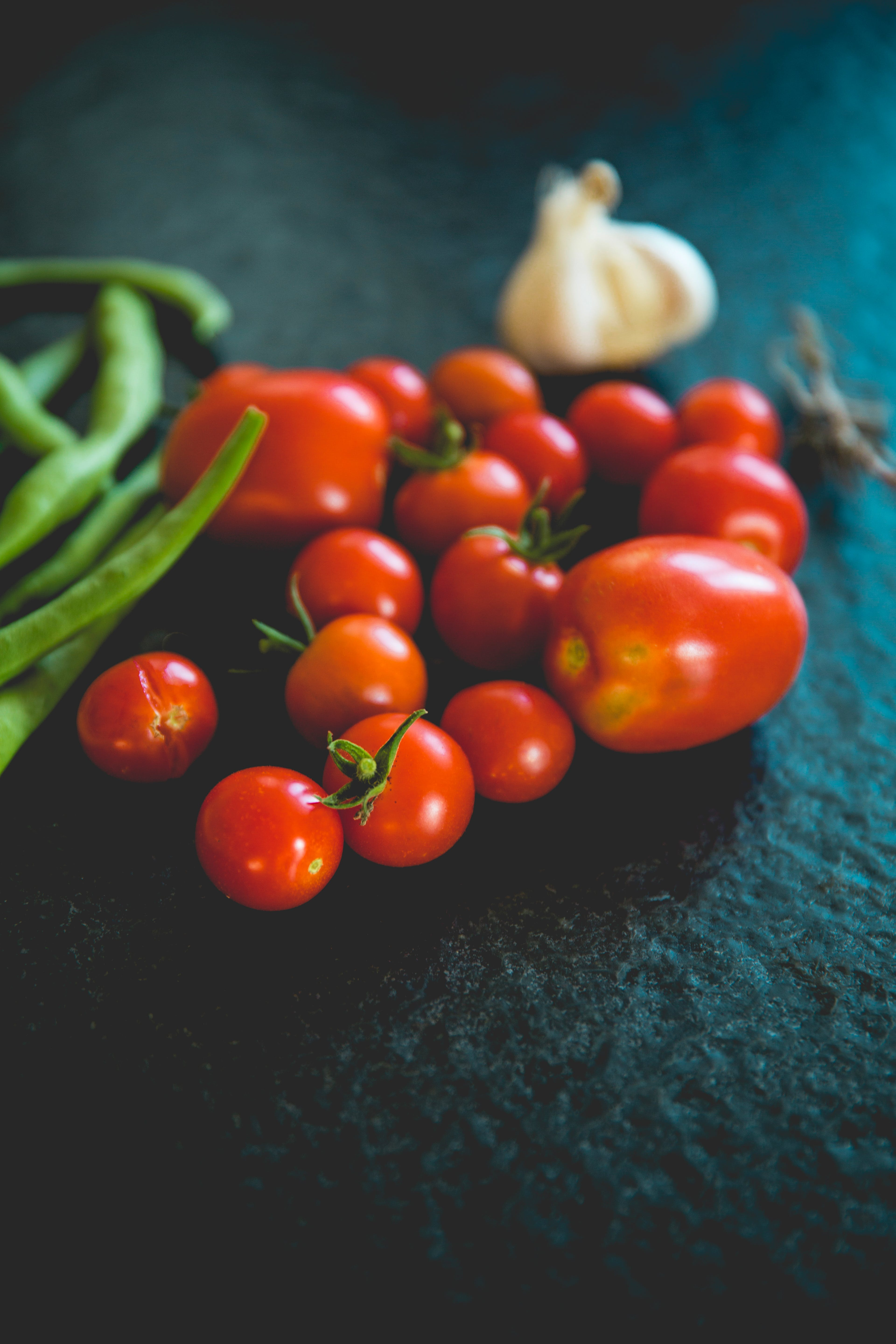 Orange Tomatoes in Shallow Focus Photography