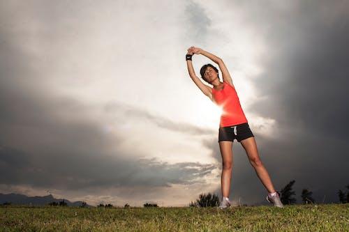 Gratis lagerfoto af aktiv, appelsin, bane, fitness