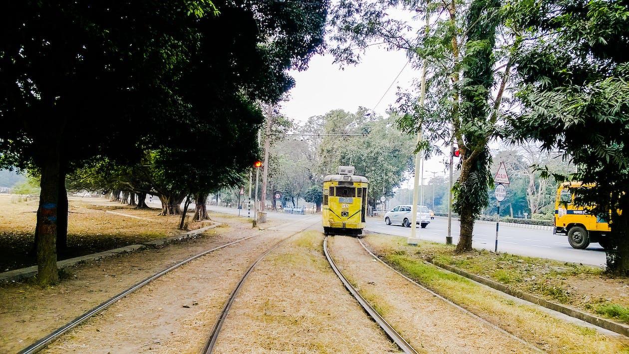 Free stock photo of public transportation, tram, vintage