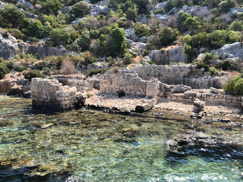 Free stock photo of by the sea, historical site, kekova