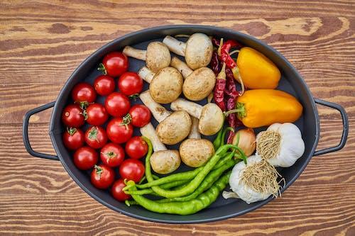 Základová fotografie zdarma na téma červená, česnek, cherry rajčata, chutný
