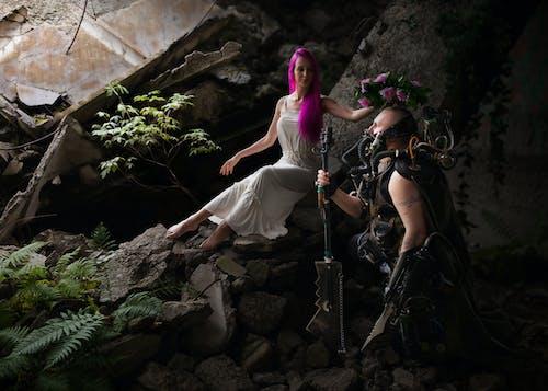 Безкоштовне стокове фото на тему «Дівчина, жінка, камені, люди»