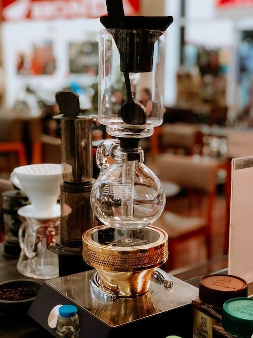 Foto profissional grátis de balcão, bar, bebida, café
