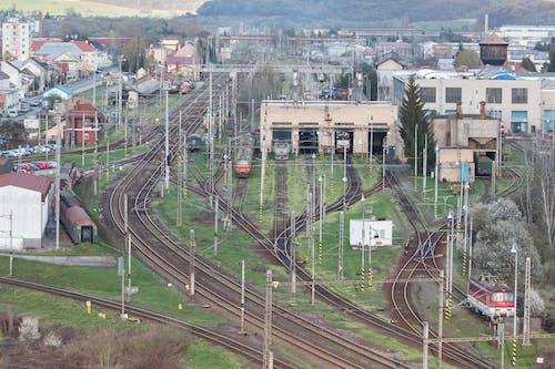 demiryolu onarımı, zvolen içeren Ücretsiz stok fotoğraf