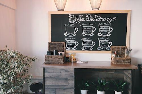 Gratis lagerfoto af boligindretning, bord, cafe