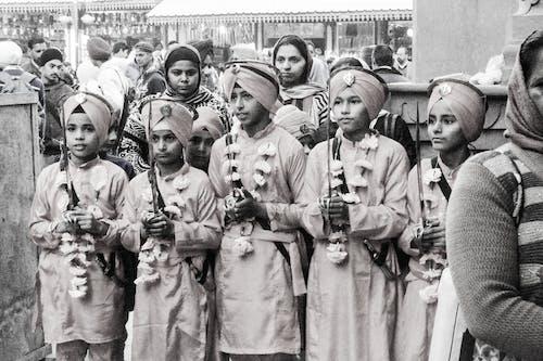 Darmowe zdjęcie z galerii z amritsar, dzieci, guru, indie