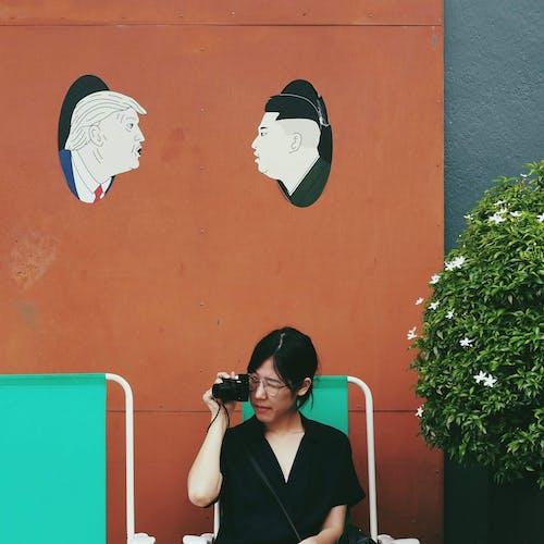 Gratis arkivbilde med ansiktsuttrykk, asiatisk jente, asiatisk kvinne, briller