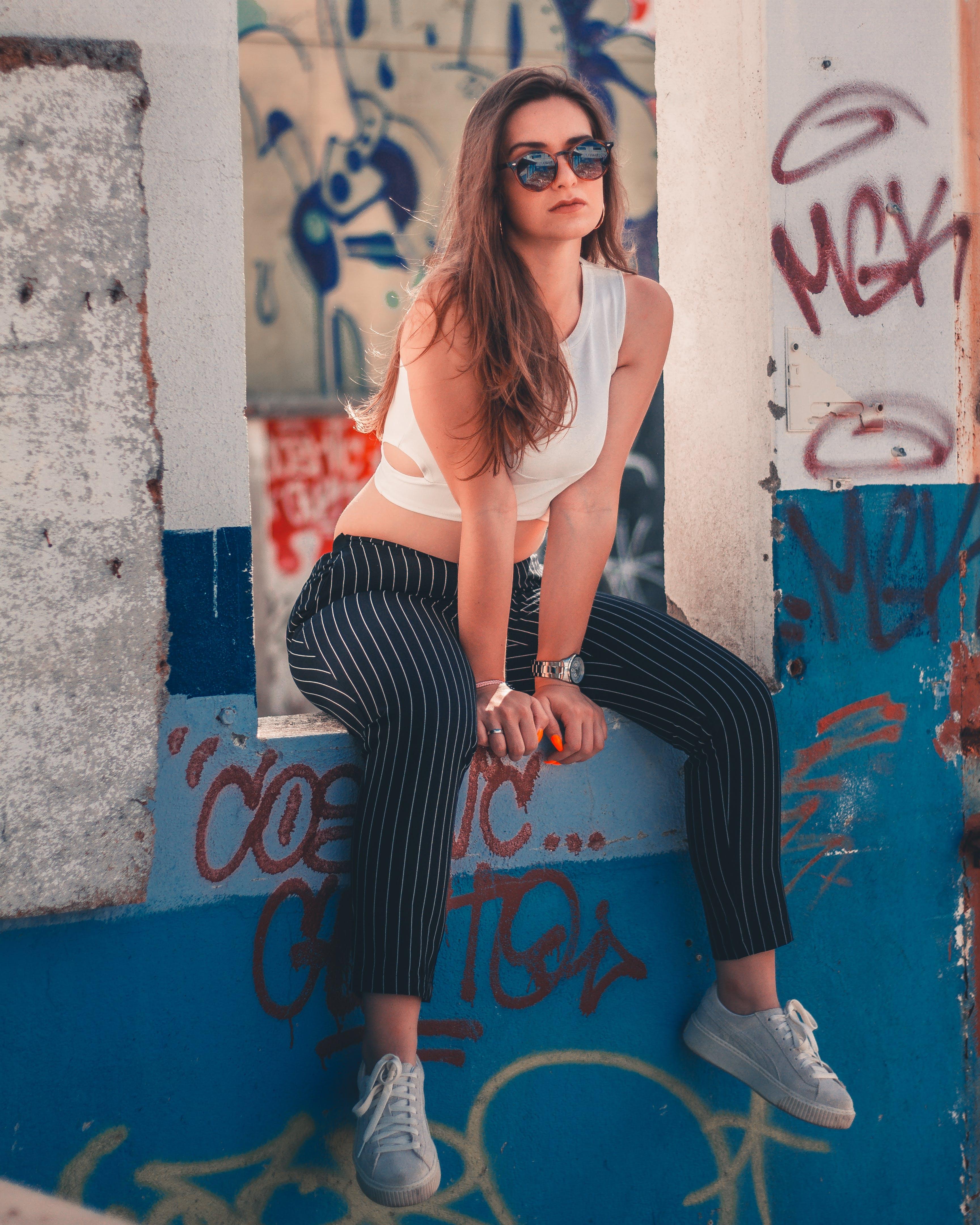Δωρεάν στοκ φωτογραφιών με casual, άνθρωπος, αστικός, γκράφιτι