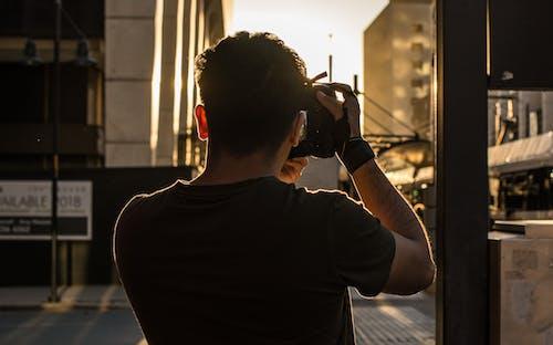 DSLR, fotografo, 가벼운, 거리의 무료 스톡 사진