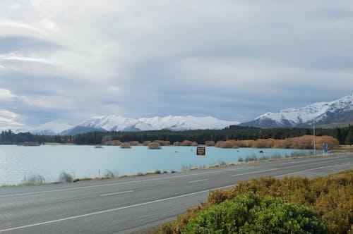 Free stock photo of blue water, christchurch, lake tekapo, landscape