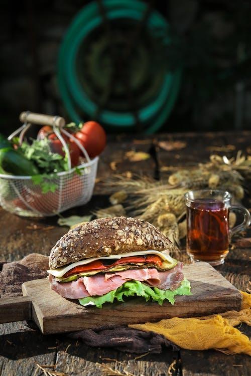Kostenloses Stock Foto zu belegtes brot, brot, essen, essensfotografie