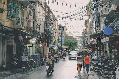 交通, 交通系統, 人, 傳統 的 免费素材照片
