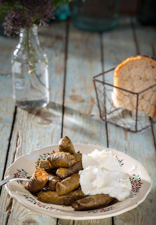 คลังภาพถ่ายฟรี ของ การถ่ายภาพอาหาร, ขนมปัง, จาน, นักกิน