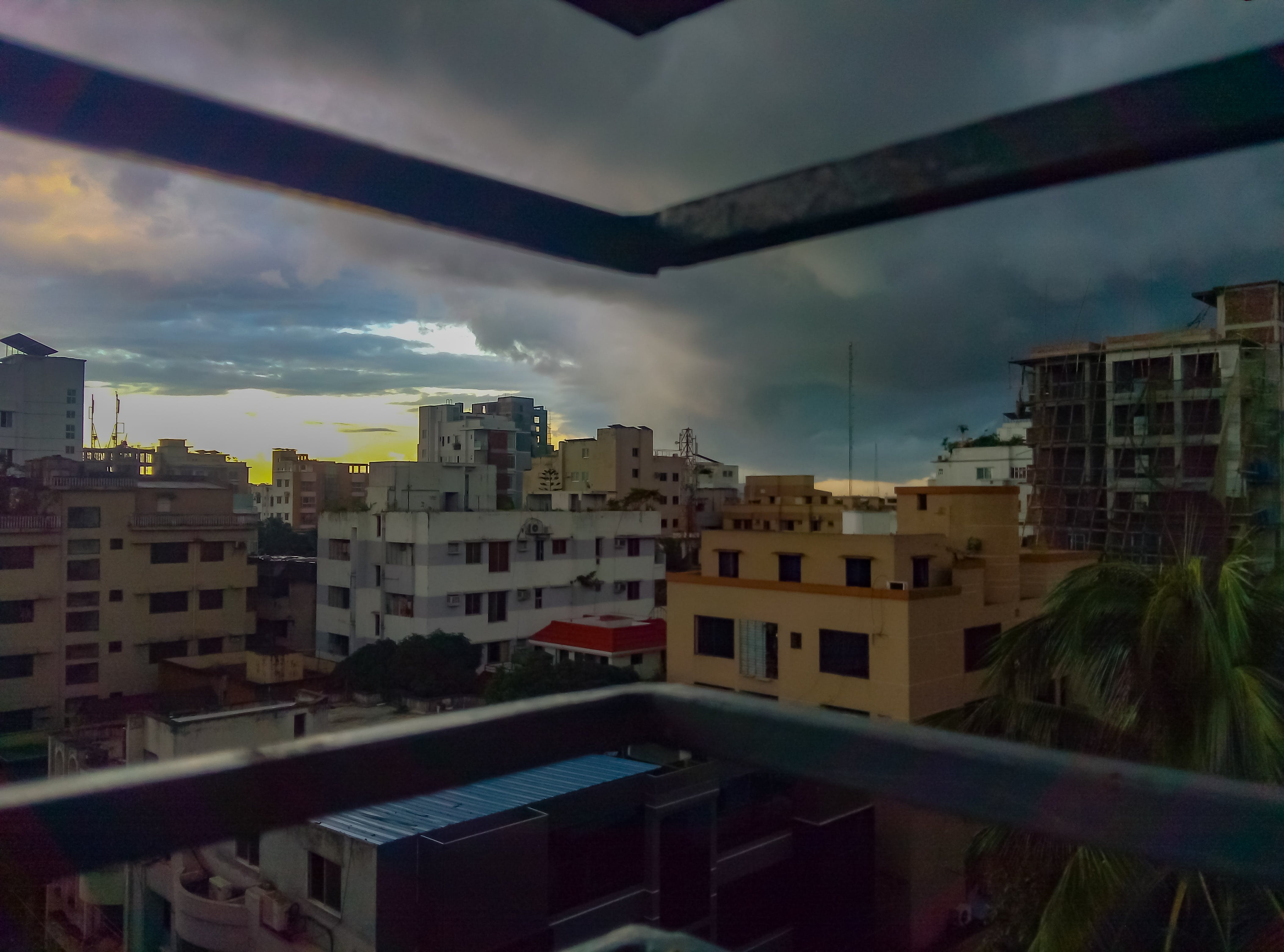 Free stock photo of dark clouds, passing dark clouds