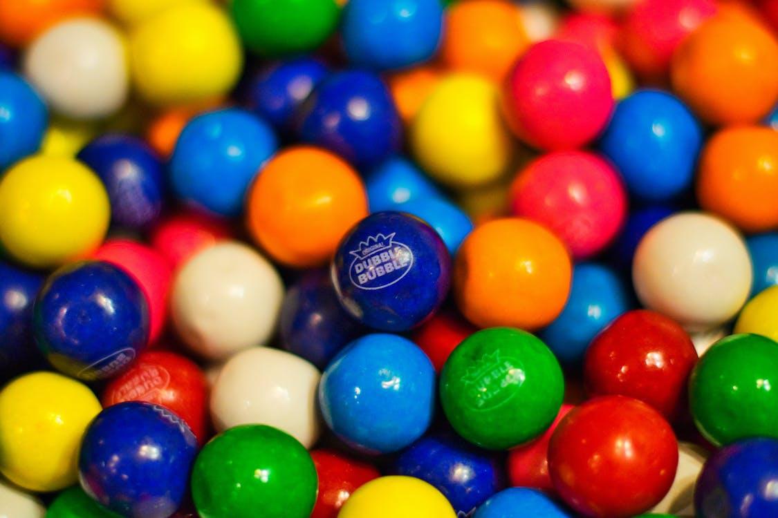 Gratis stockfoto met blauw, groen, kauwgom