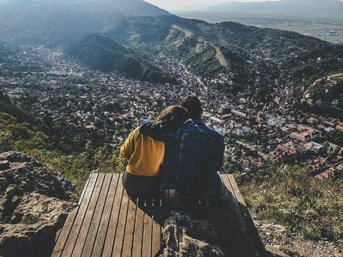 Free stock photo of brasov, couple, holiday, mountains