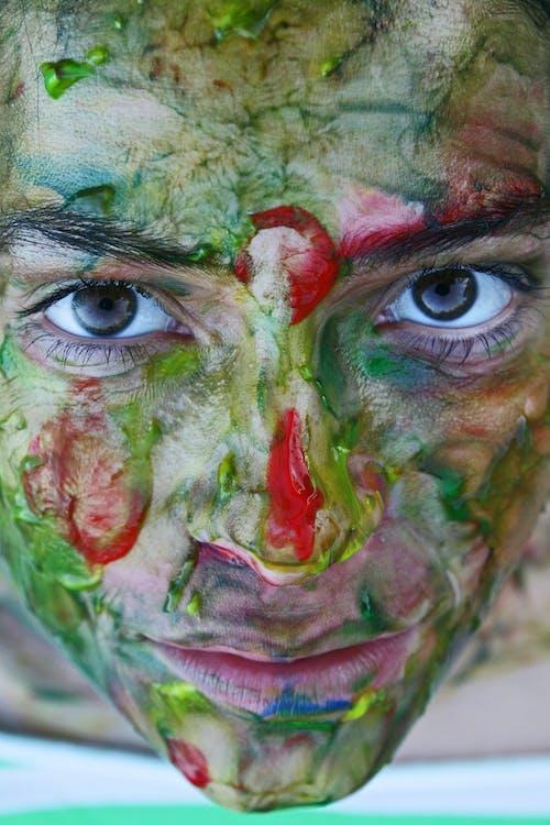 Foto stok gratis artistik, belum tua, hijau, kesenian