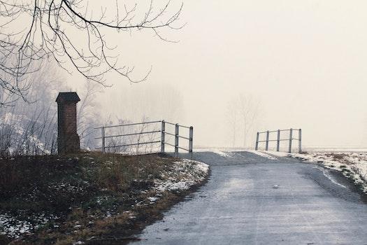 Free stock photo of cold, snow, bridge, winter