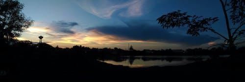 Gratis lagerfoto af aften, himmel, landskab, morgengry