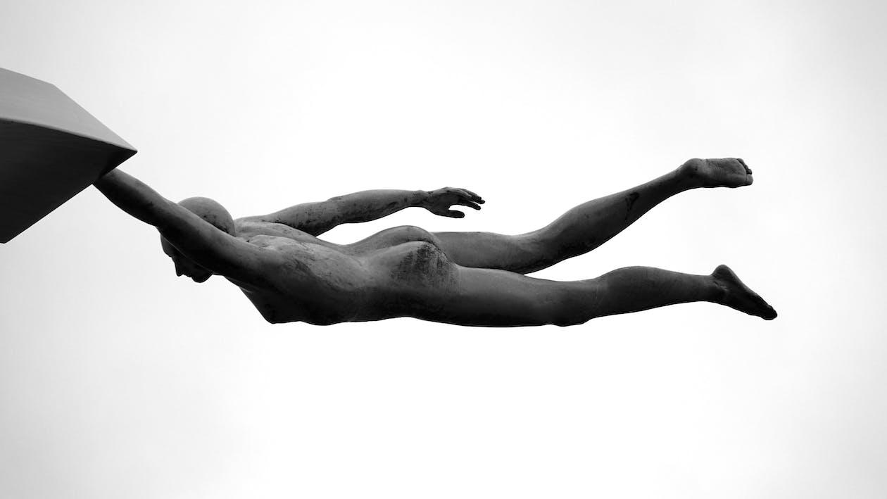 kunst, perspektiv, skulptur