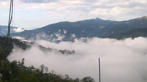 Free stock photo of clouds, india, mountains, sikkim