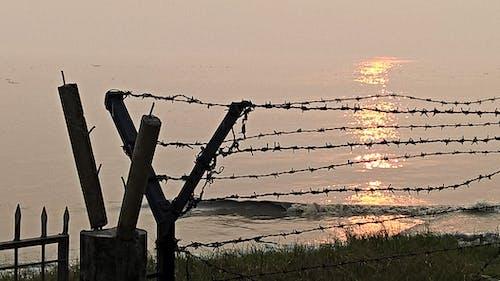 Free stock photo of diamondharbor, Ganga, india, sunset