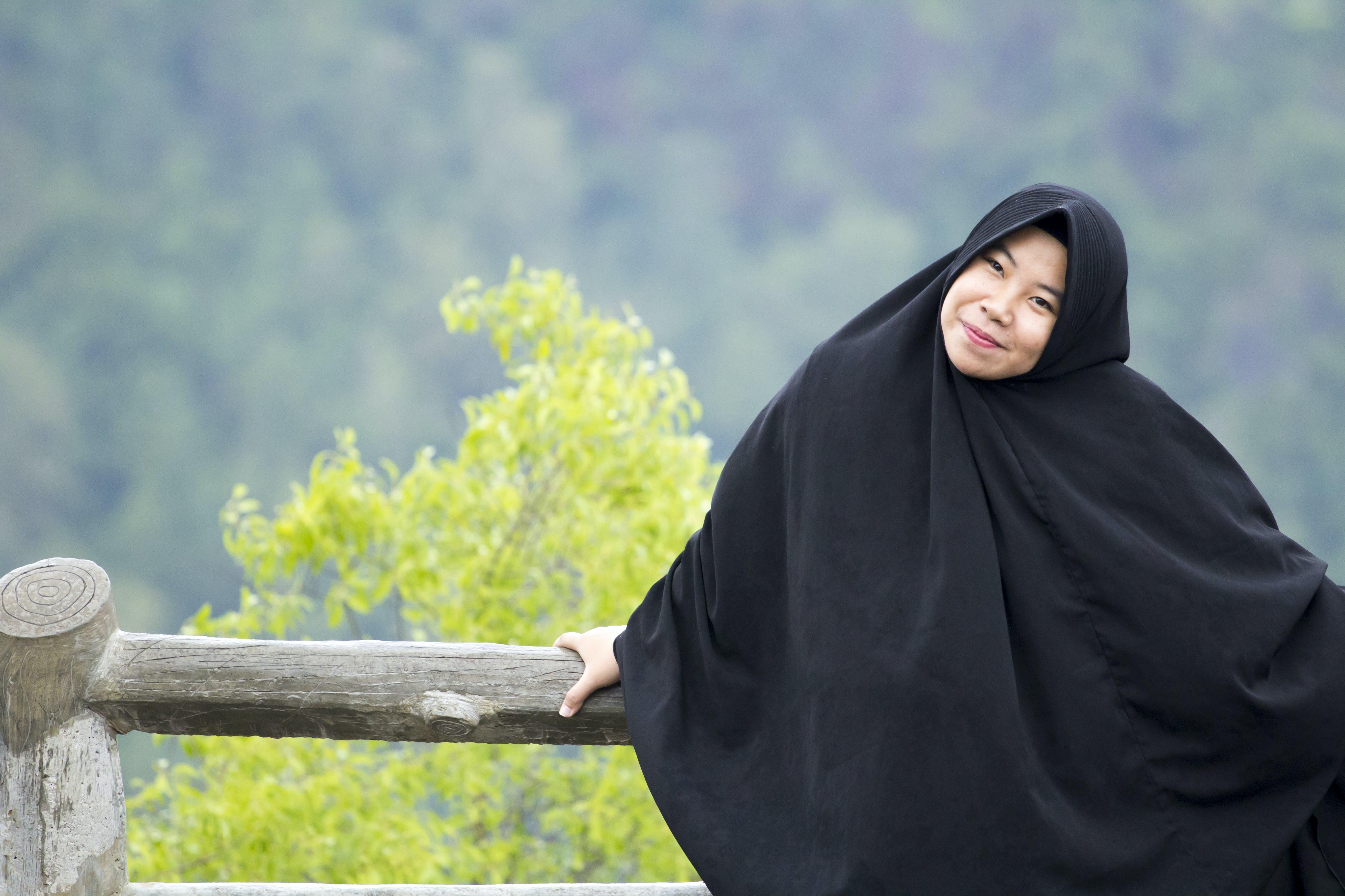 Základová fotografie zdarma na téma islám, krásný, na výšku, ženy