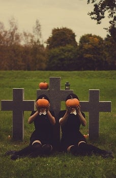 Free stock photo of halloween, creepy, scary, graves