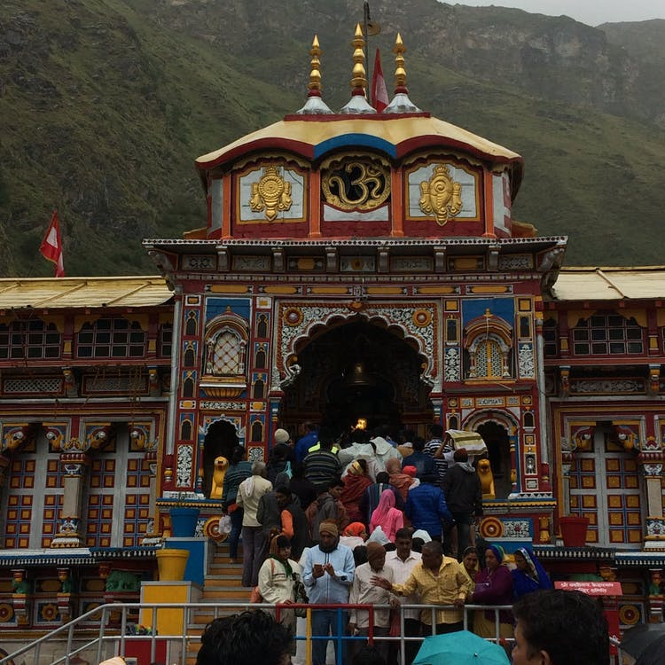 Free stock photo of Badrinath Temple