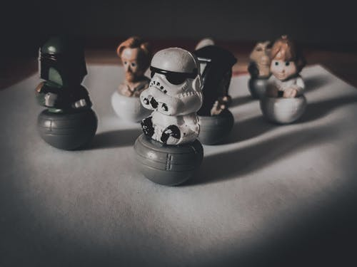 Free stock photo of #minitoys #starwars #life