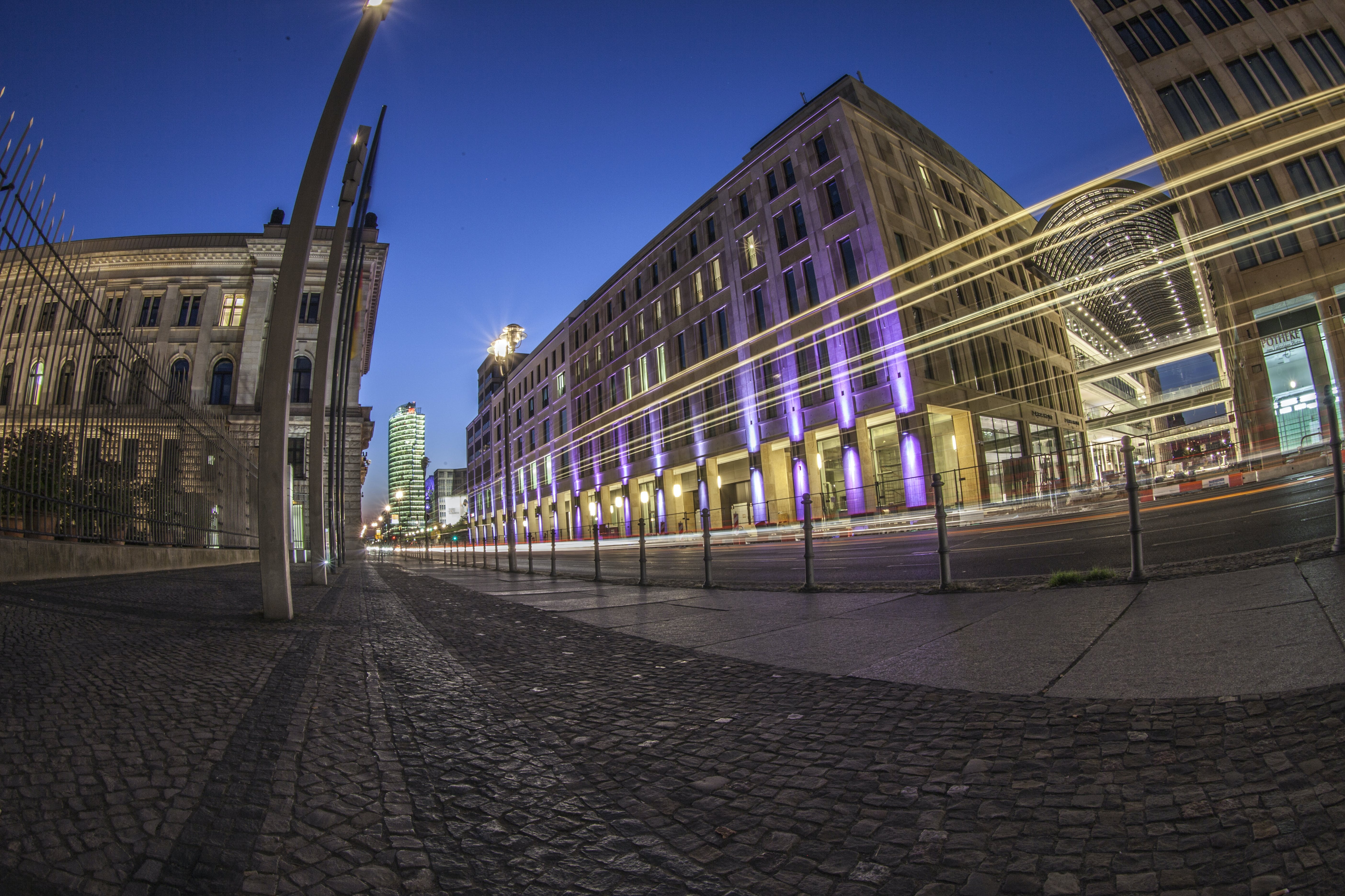 Time Lapse Photo of Buildings