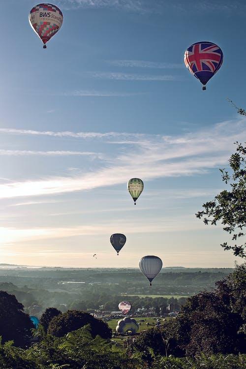 Free stock photo of bristol, cloud, festival, hot air balloons