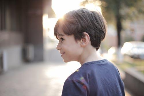 Základová fotografie zdarma na téma chlapec, děti, mladý, profil