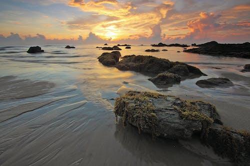Fotobanka sbezplatnými fotkami na tému krajina pri mori, more, morský breh, obloha