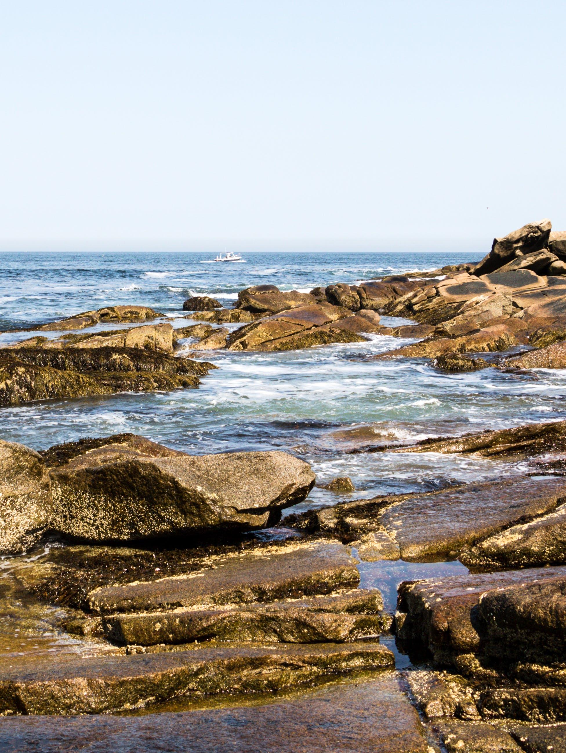 Free stock photo of boat, horizon, landscape, massachusetts