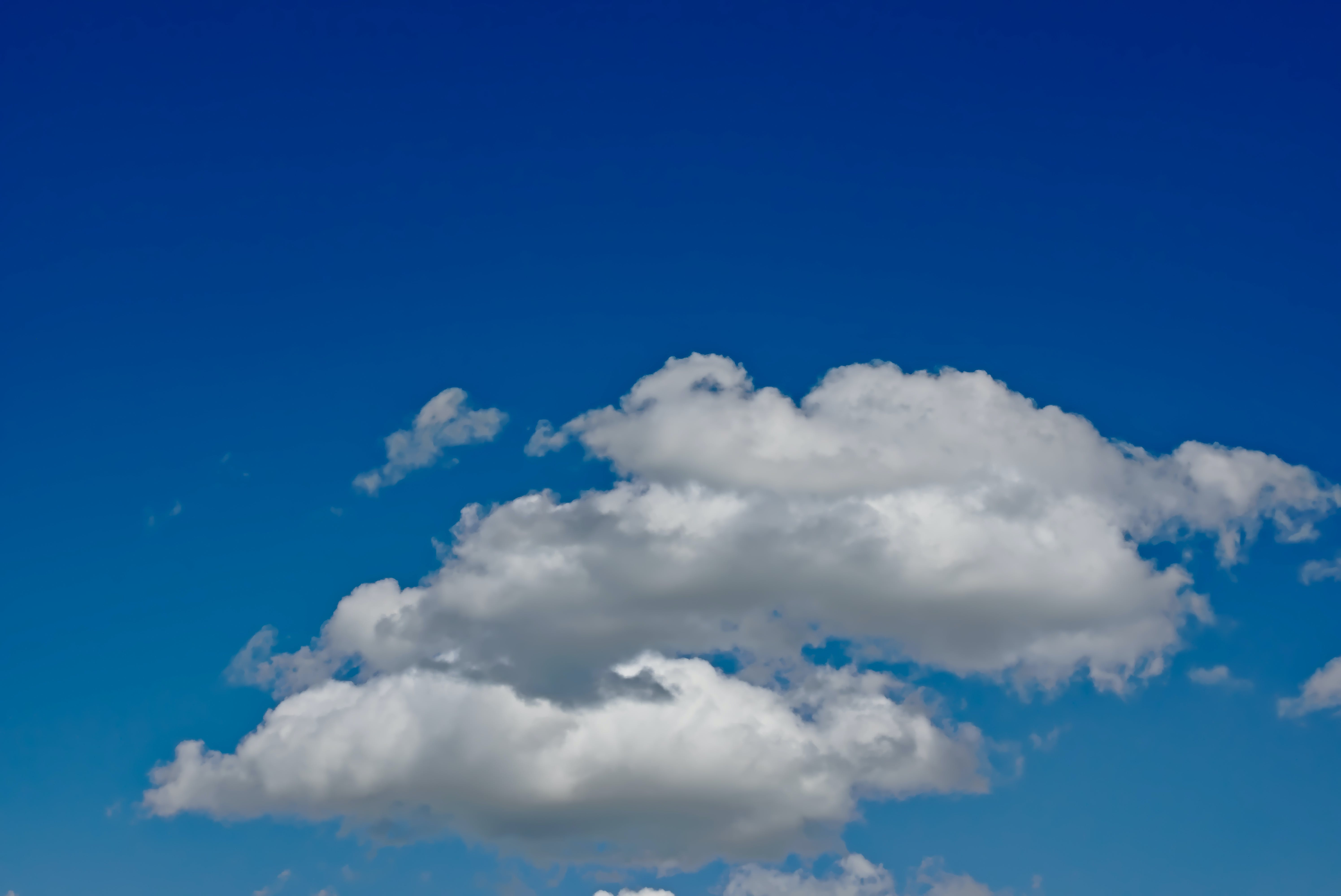 Free stock photo of clouds, three-is-cloud