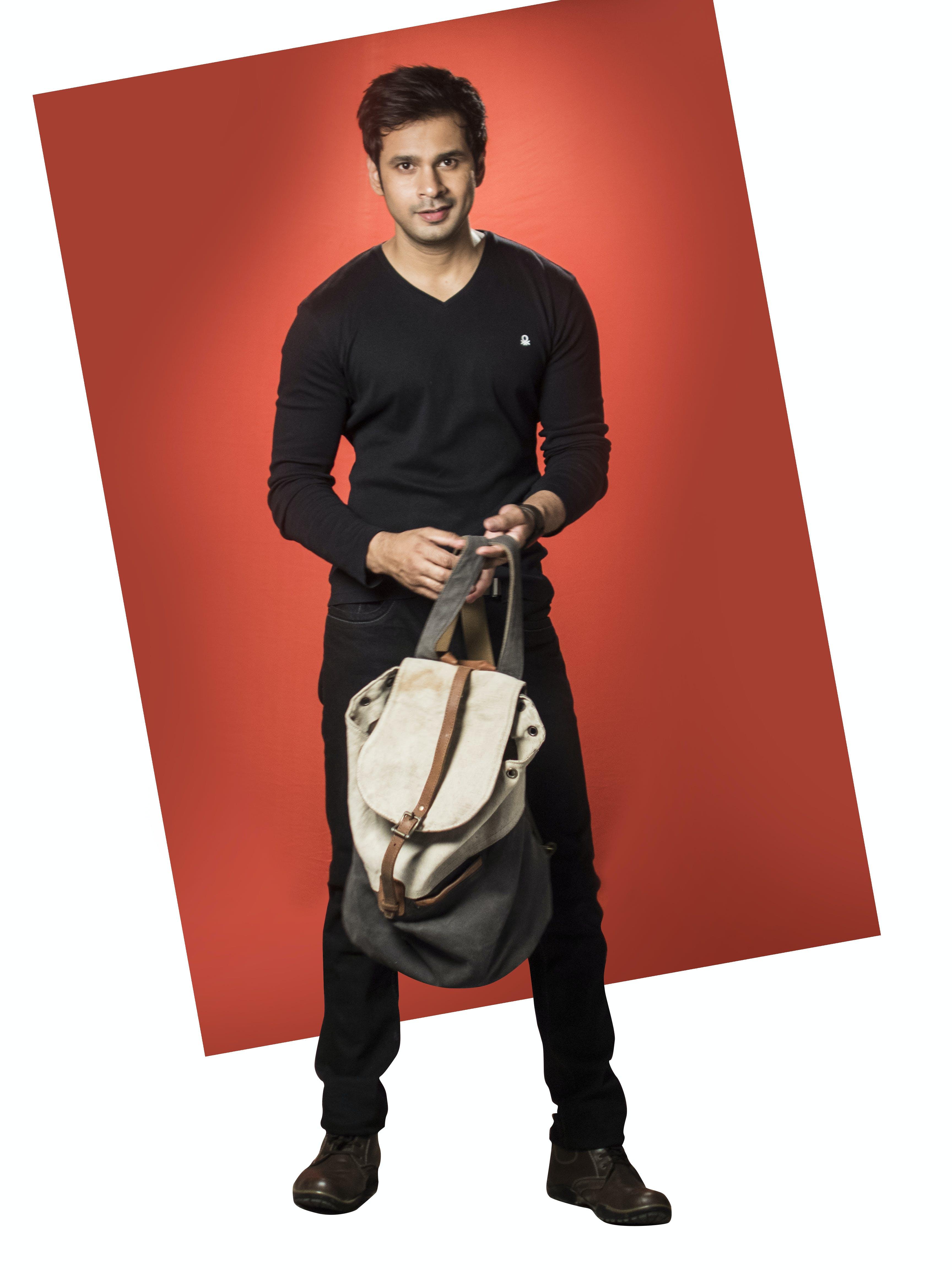 Free stock photo of bag, black, boy, collage