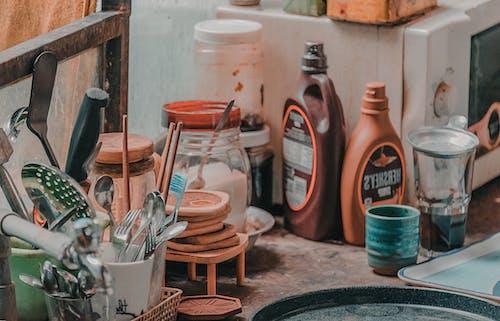 びん, インドア, カップ, ガラス瓶の無料の写真素材