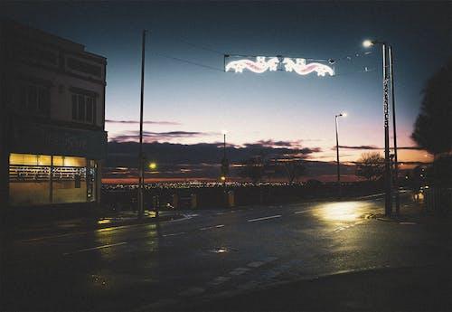 Gratis arkivbilde med lett, nattehimmel