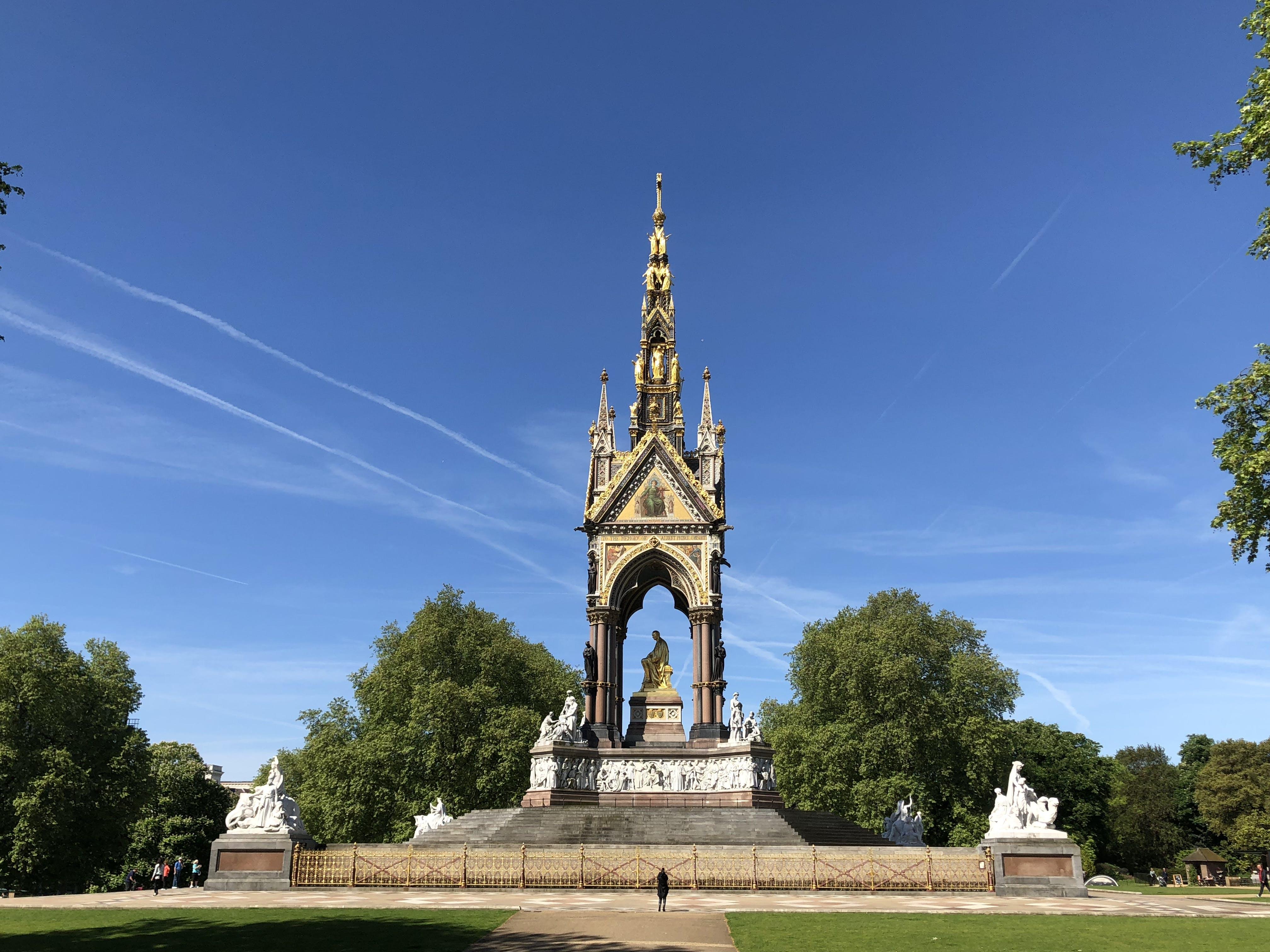 Free stock photo of Albert Memorial, Kensington Gardens, Pricen Albert, queen victoria