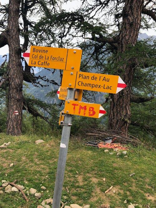 alp, Alpler, işaret, tmb içeren Ücretsiz stok fotoğraf