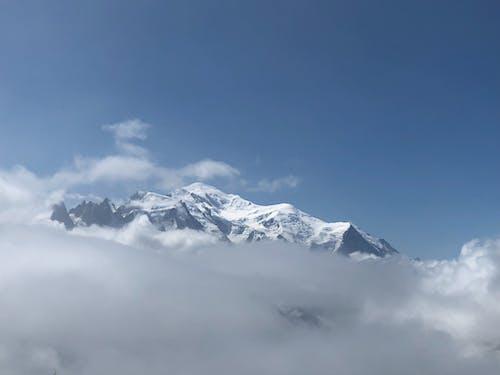 bulutlar, mont blanc içeren Ücretsiz stok fotoğraf