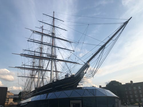 cutty sark clipper gemi içeren Ücretsiz stok fotoğraf
