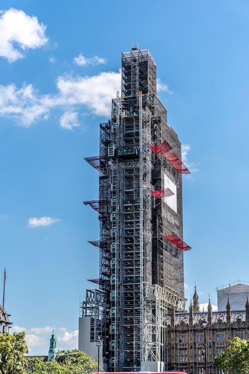 คลังภาพถ่ายฟรี ของ elizabethtower, บิ๊กเบน, ลอนดอน