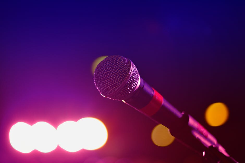 Close Up Photography of Microphone