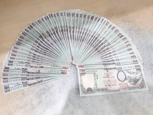 Foto profissional grátis de dinheiro, Nepal, nrb, paisa nepalês