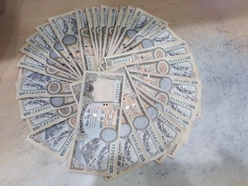 Foto profissional grátis de dinheiro, lembrete, nepali