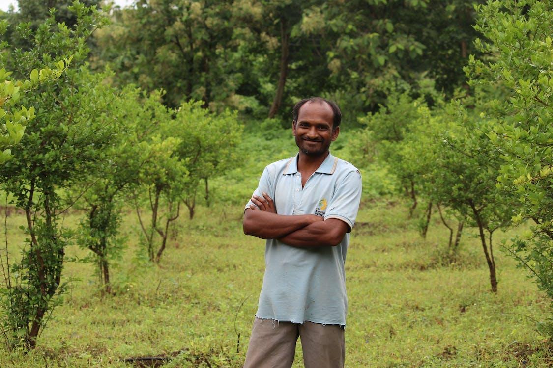Free stock photo of farmer, happiness, maharashtra