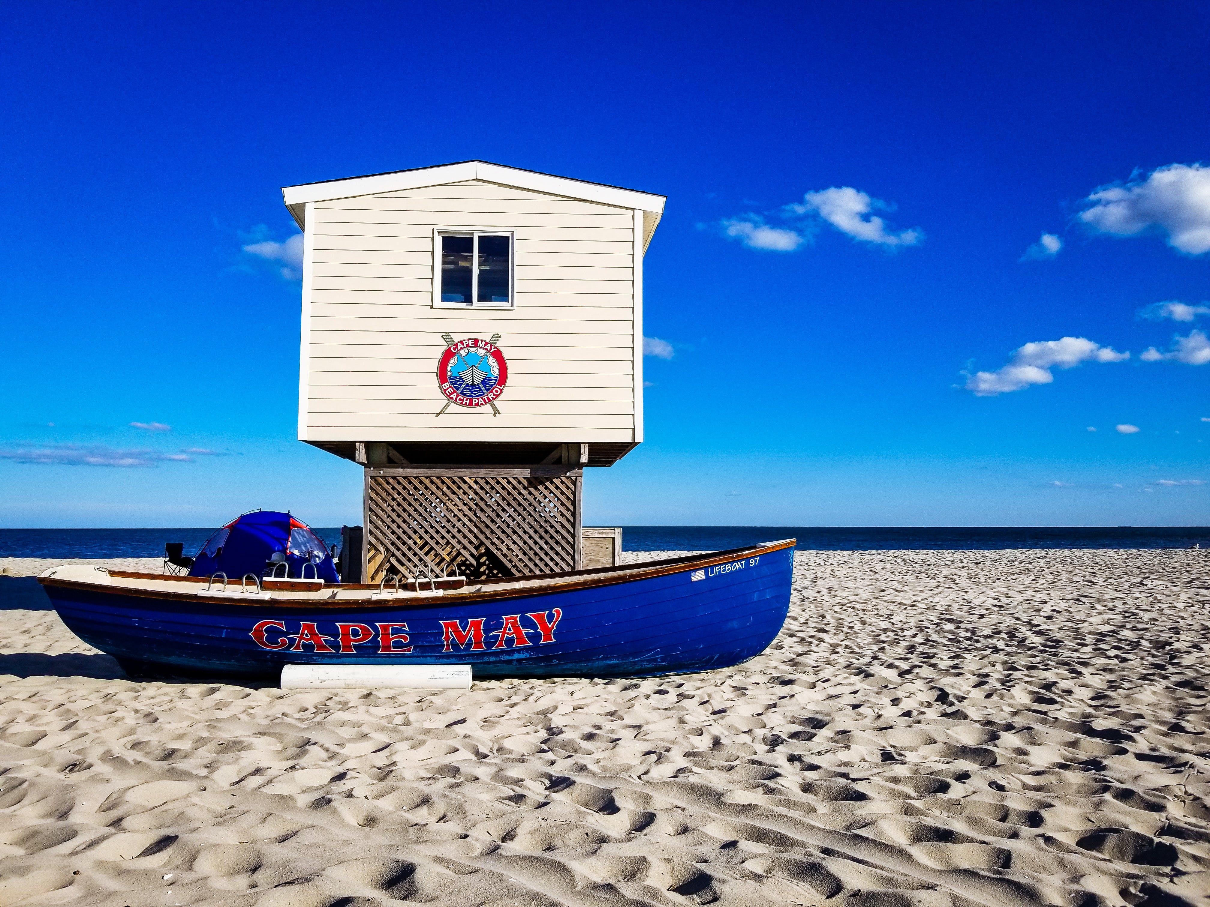 Free stock photo of beach, cape, lifeguard, may